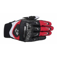 Guanto Alpinestars Smx-2 air carbon black red