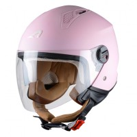 Astone casco Mini Jet flammingo 1