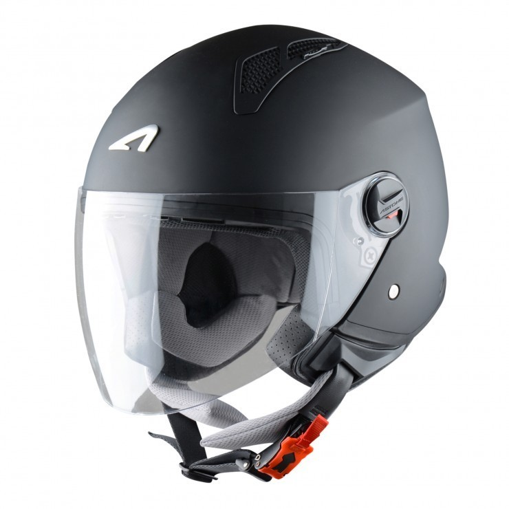 Astone casco Mini Jet matt black