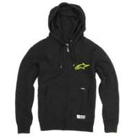 Alpinestars Charged zip black felpa nera e verde