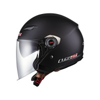 Ls2 Casco Track matt black