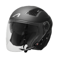 Astone casco Dj 10 matt black