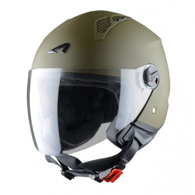 Astone casco Mini Jet verde 1