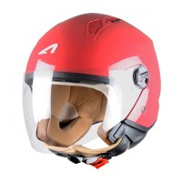 Astone casco Mini Jet cherry