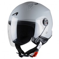 Astone casco Mini Jet light grey