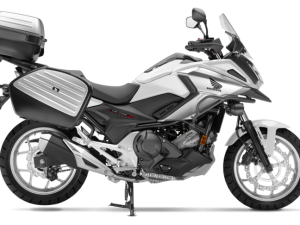 Honda Nc 750 X travel edition bianca