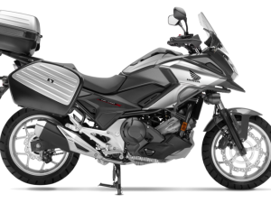 Honda Nc 750 X travel edition grigia