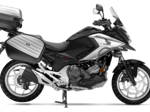 Honda Nc 750 X travel edition nera