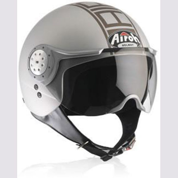 Airoh-Casco-Naked-silver
