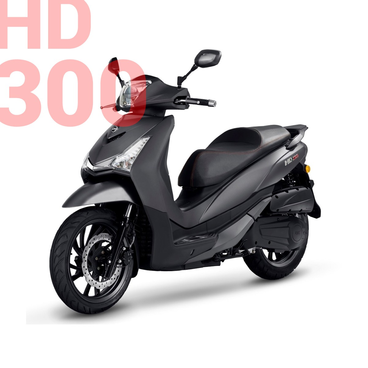 SYM Static Block 2019-HD 300