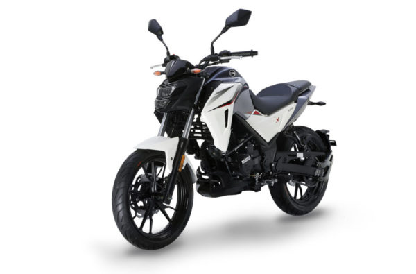 Sym NH xcion 125 white